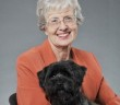 Katherine Albro Houpt, VMD, PhD, DACVB with her Cairn Terrier named Denver. VMD, PhD, DACVB http://abcofnm.com