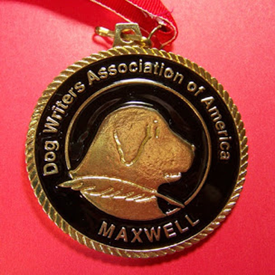 dog writers maxwell medallion dwaa
