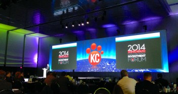 KC Investment forum main stage