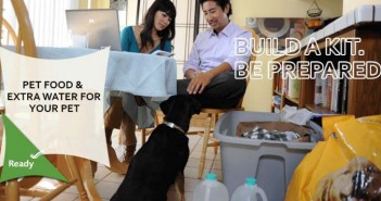 Sept 15-21 How To Build An Emergency Kit, Don't Forget Your Pet!