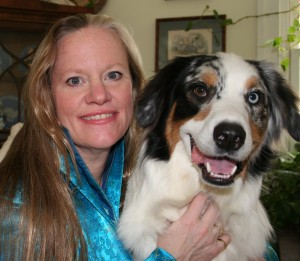 Karen L. Overall, MA, VMD, PhD, DACVB, CAAB and her dog, Toby. overall.karen@gmail.com.
