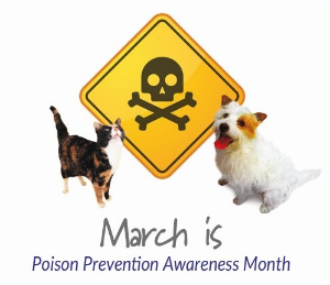 march poison prevention awareness month
