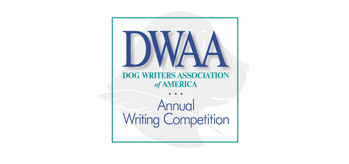 Dog Writers Contest Entry Deadline September 9, 2015