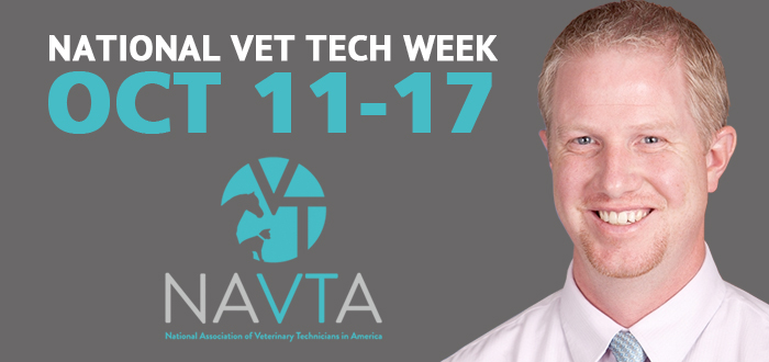 NAVTA Celebrates Vet Techs October 11-17