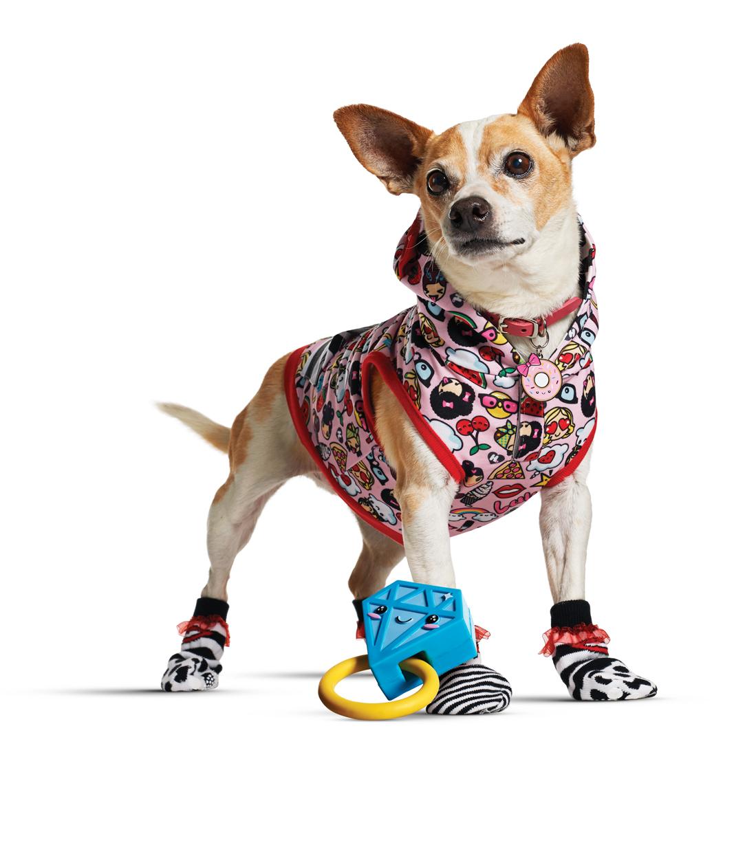 Petco - Dock Socks Harajuku Lovers Bling Emoji Dog Toy