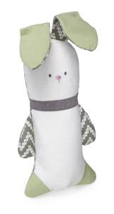 Crinkle Bunny Dog Toy