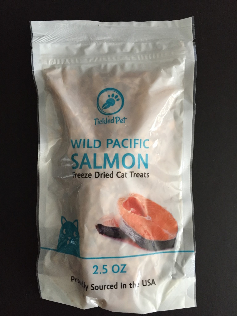 Tickled Pet Wild Pacific Freeze Dried Salmon Cat & Dog Treats