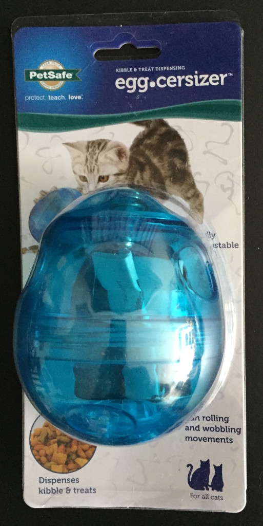 Petsafe Egg-Cersizer™ Cat Toy blogpaws