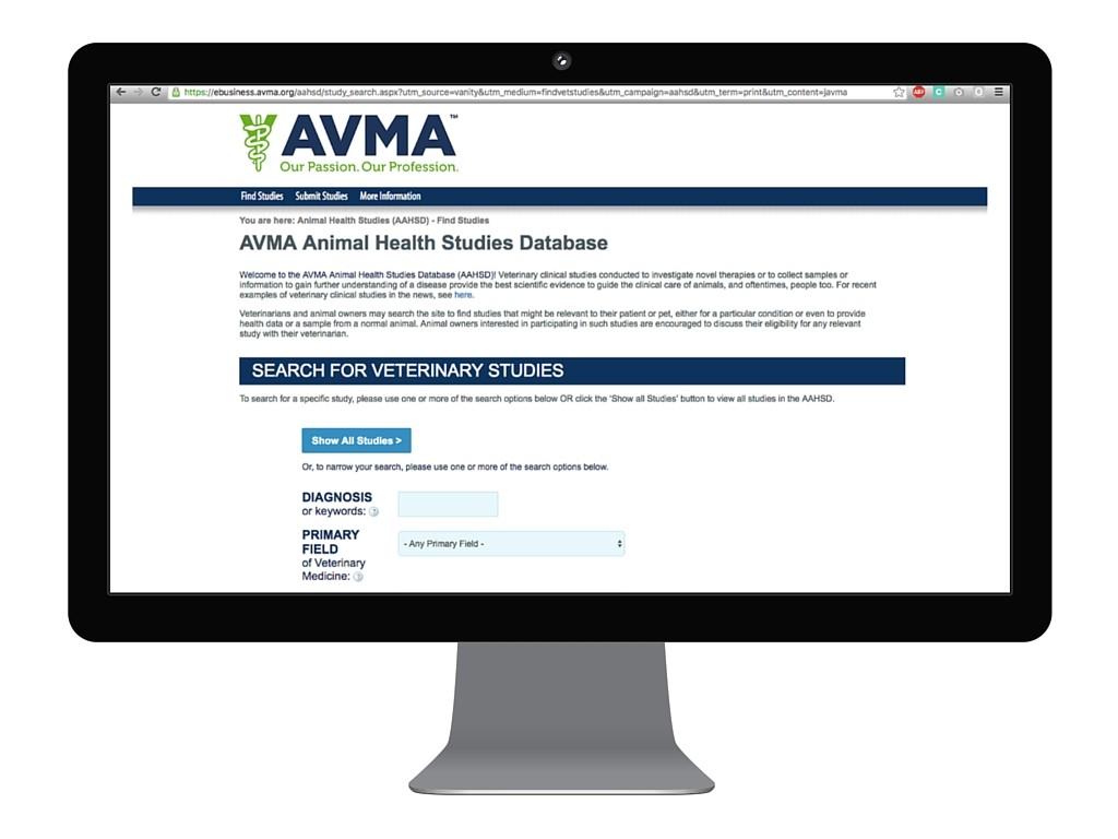 avma animal health studies