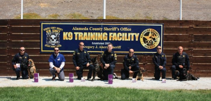 Ceva Animal Health Provides Alameda County K9 Unit with Vectra 3D as Part of Their Double Defense Protocol