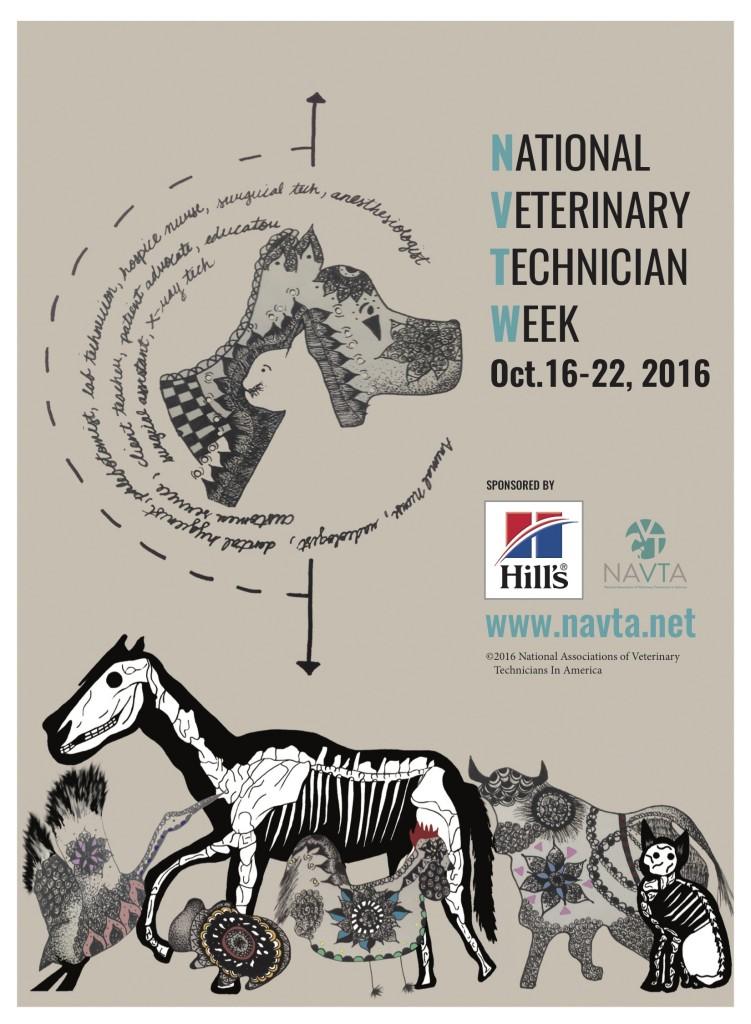 veterinary technicians week