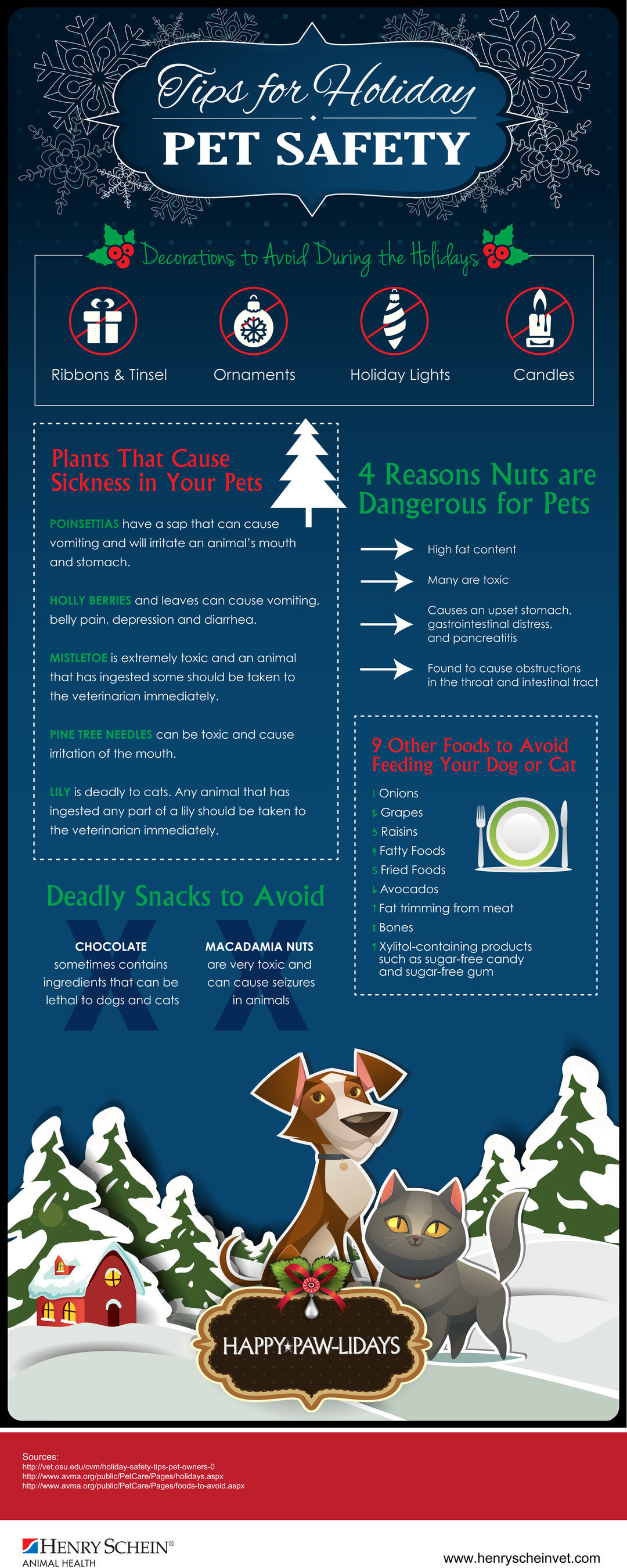 Henry Schein Scheins Tips For Holiday Pet Safety