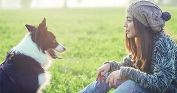 millennial pet owner adopt a shelter dog