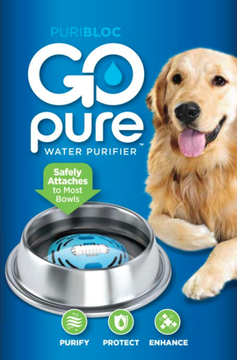gopure pet water filter