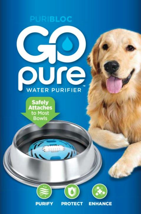 gopure pet water filter
