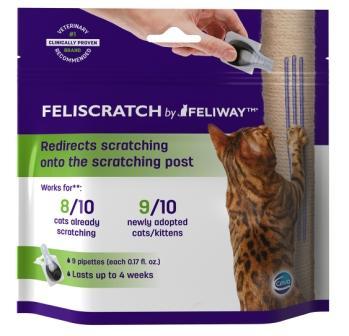 feliway feliscratch ceva animal health cat scratching