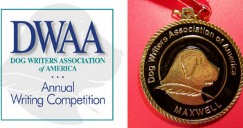 dwaa dog writers 2017 contest winners maxwell medallion