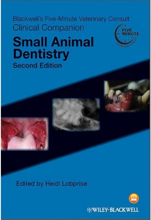 Blackwell's Five-Minute Veterinary Consult Clinical Companion: Small Animal Dentistry heidi lobprise pet dental