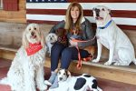 Jill Rappaport and Rescue pupps