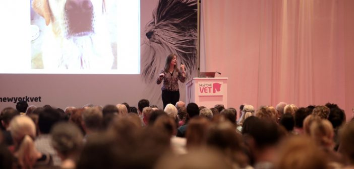 What's the hottest pinkest veterinary event to hit New York City?