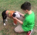 Jayson Kimberly with Shelter Pup