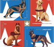 working dogs stamps