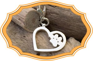 GNFP Heart-Paw Charm