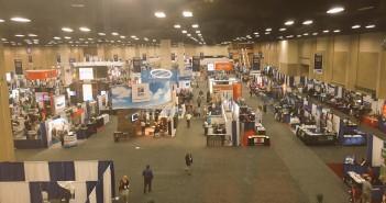An AVMA Convention Floor