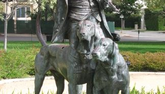 beverly hills kennel club statue