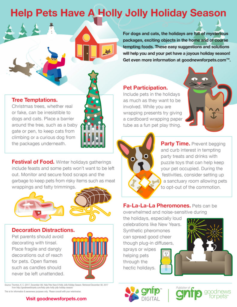 goodnewsforpets holiday pet safety infographic christmas hanukkah new years