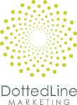 Dotted Line Marketing Logo