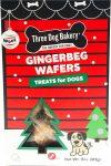 Three Dog Bakery Gingerbeg Wafers