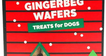 Three Dog Bakery Gingerbeg Wafers