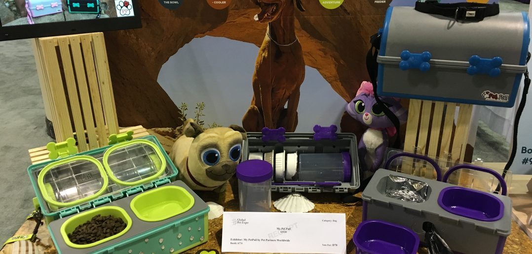 Global Pet Expo Best In Show Dog Products Winner: My Pet Pail