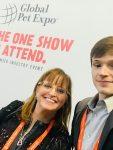 Lea-Ann Germinder and Joe Germinder at Global Pet Expo