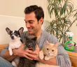 Evan Antin and Pets