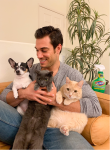 Dr. Evan Antin with Pets