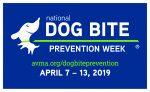 Dog Bite Prevention Week Logo