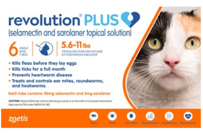 Revolution Plus 6 In 1 Broad Spectrum Monthly Topical Solution For Cats Goodnewsforpets