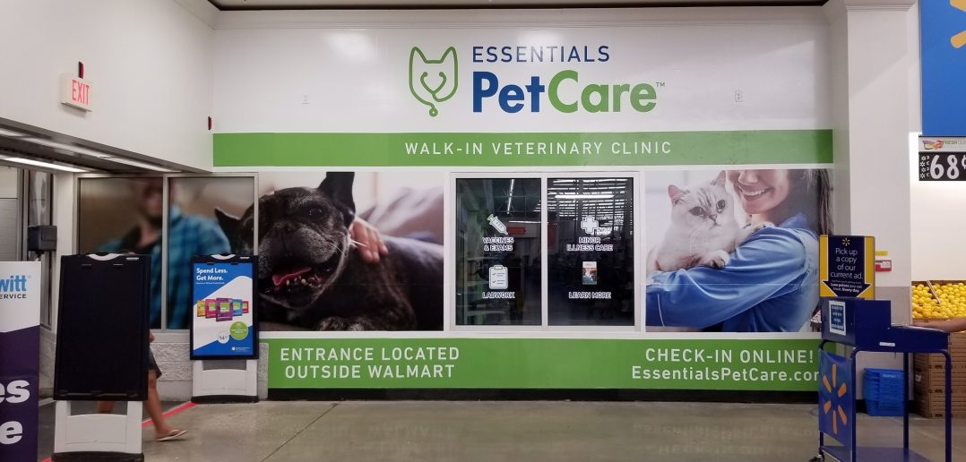 Walmart to Expand Essential PetCare Walk-In Clinics To Texas, 100 Nationwide Over the Next 12 Months