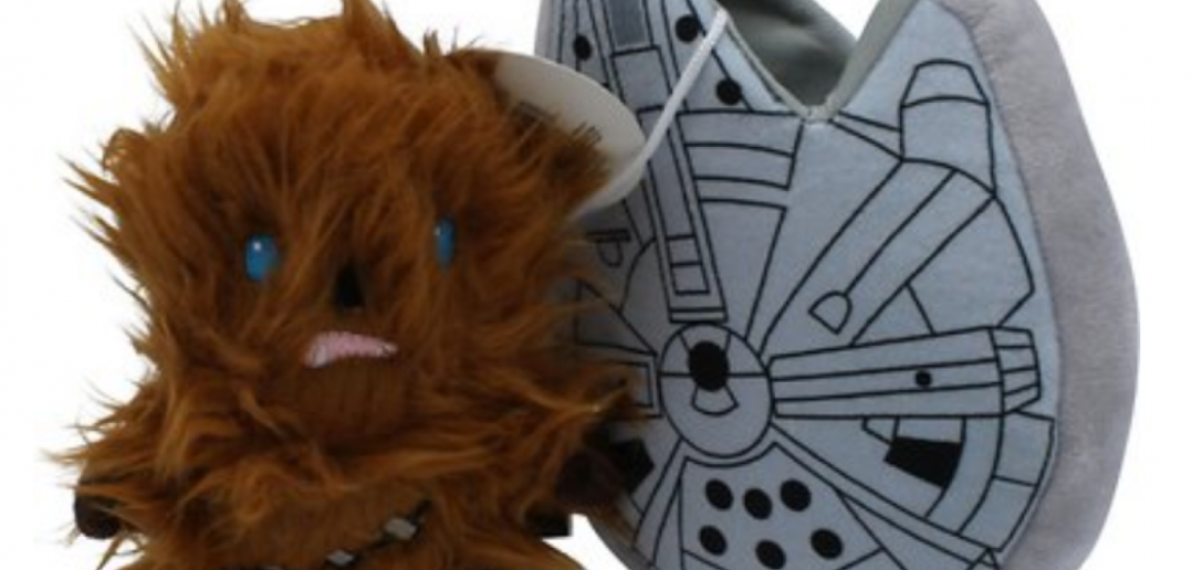 Fetch for Pets Star Wars Chewbacca Millenium Falcon Stuffer Dog Toy Available at Chewy