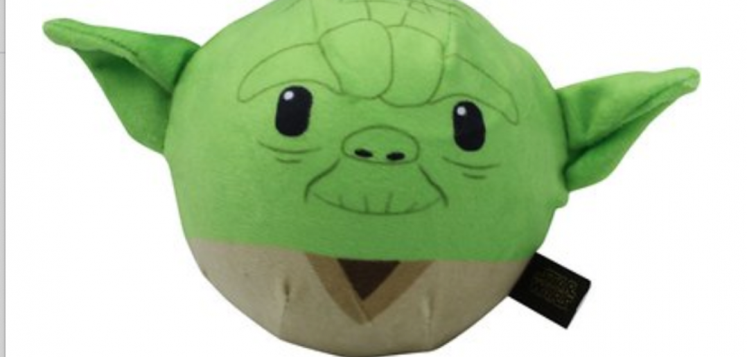 Fetch for Pets Star Wars Yoda Plush Ball Dog Toy From Chewy