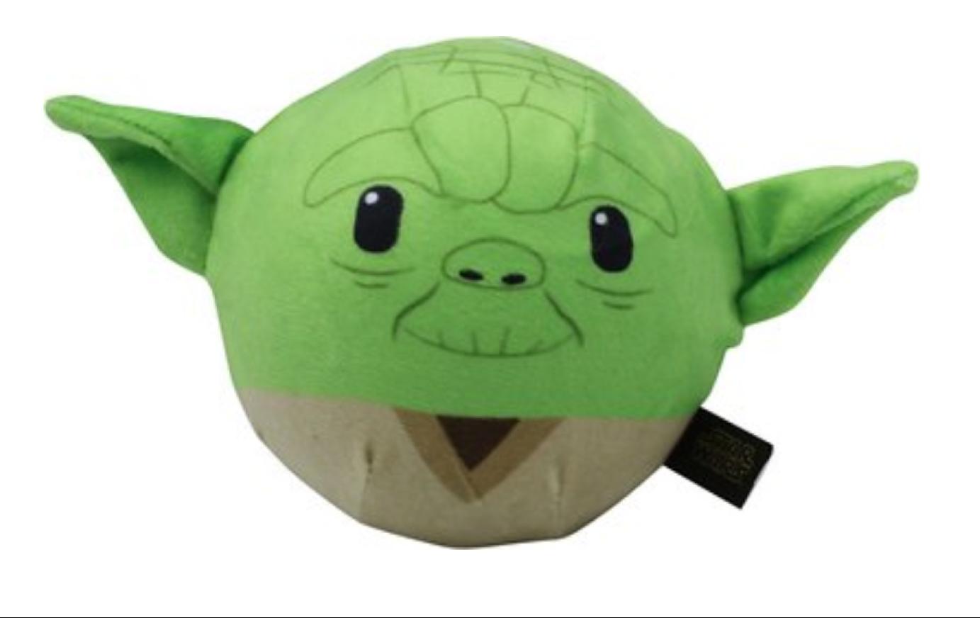 star wars yoda pet toy