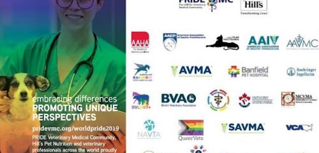 Veterinary Groups Support Pride VMC and WorldPride 2019 NYC