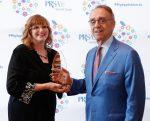 Germinder Accepting Award
