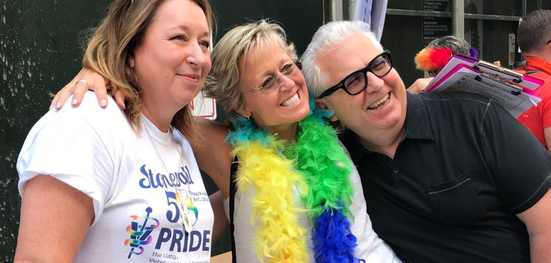What veterinary group led the March for World Pride 2019 in NYC?