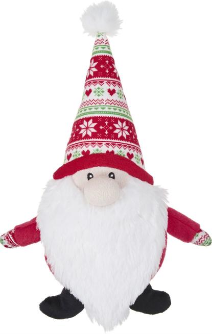 Frisco Holiday Gnome Santa Dog Toy