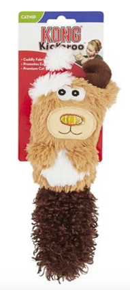 Kong Holiday Kickeroo Reindeer Cat Toy Product