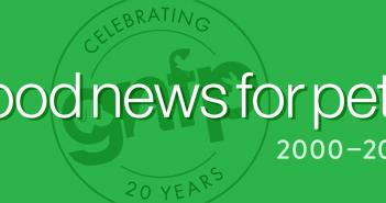 Goodnewsforpets.com 20th Anniversary Banner