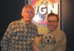 Benji and Steve Dale at WGN